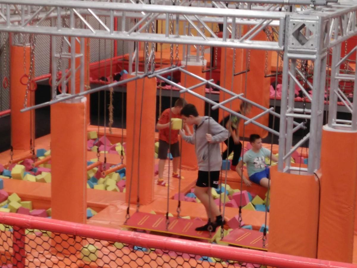 Flypark Radlin - ciekawa lekcja wychowania fizycznego